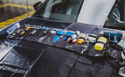 汽车太阳膜贴膜绝技分享之专业工具套装