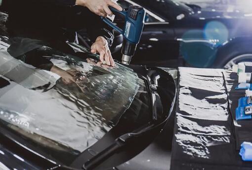 汽车太阳膜贴膜绝技分享之干烤工艺